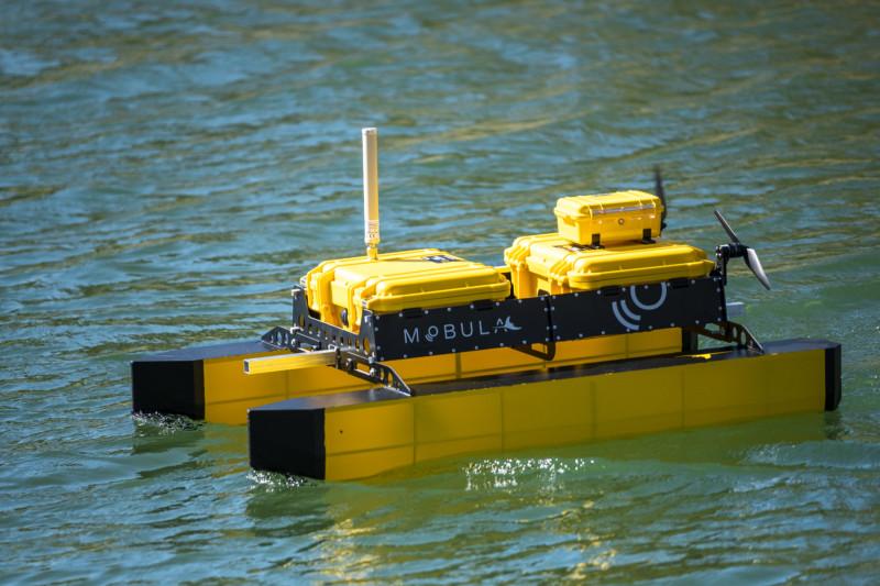 Mobula : les nouveaux drones bathymétriques